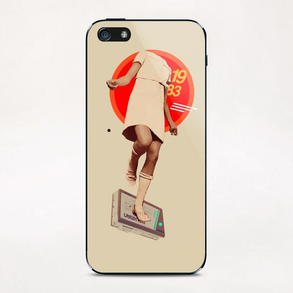 1983 iPhone & iPod Skin by Frank Moth