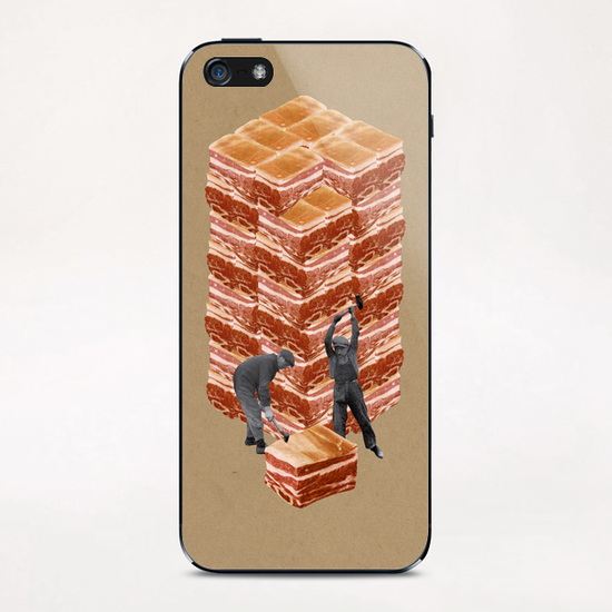 Working Class iPhone & iPod Skin by Lerson