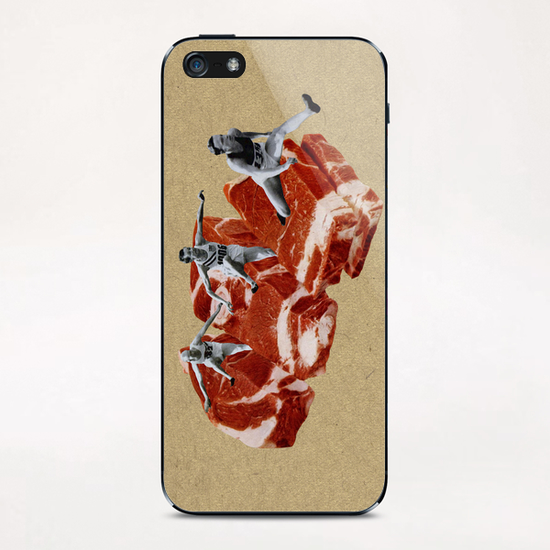 Hurdle Race iPhone & iPod Skin by Lerson
