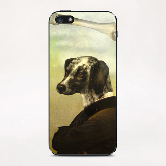 A Dog's Dream iPhone & iPod Skin by DVerissimo