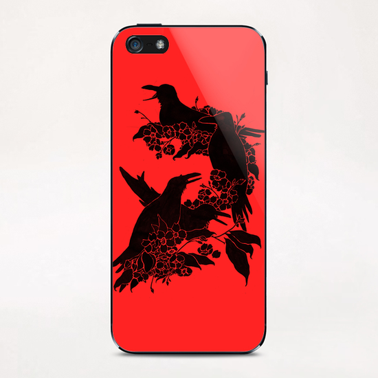 A Feast For Crows iPhone & iPod Skin by Tobias Fonseca
