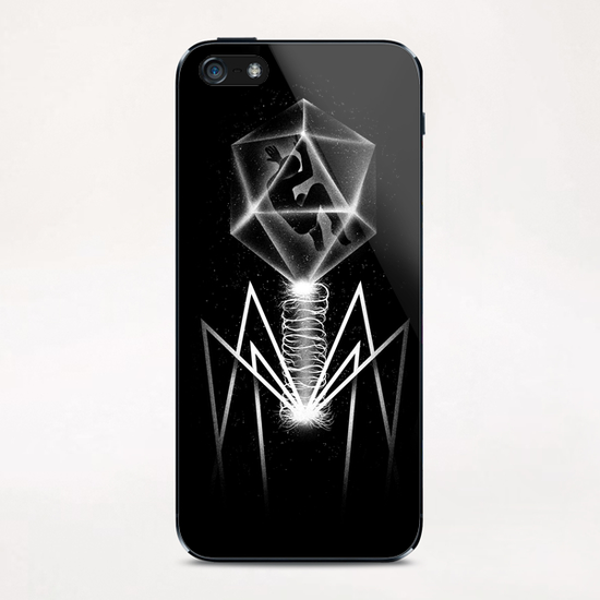 Bacteriophage iPhone & iPod Skin by Tobias Fonseca