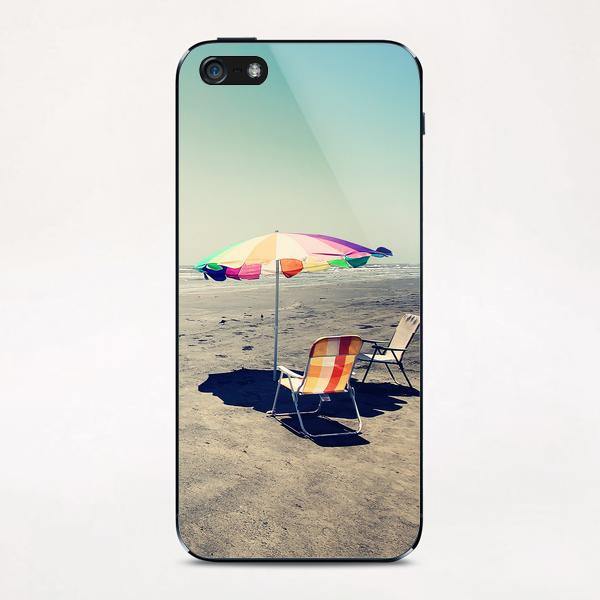 Beach Day iPhone & iPod Skin by Trish Mistric