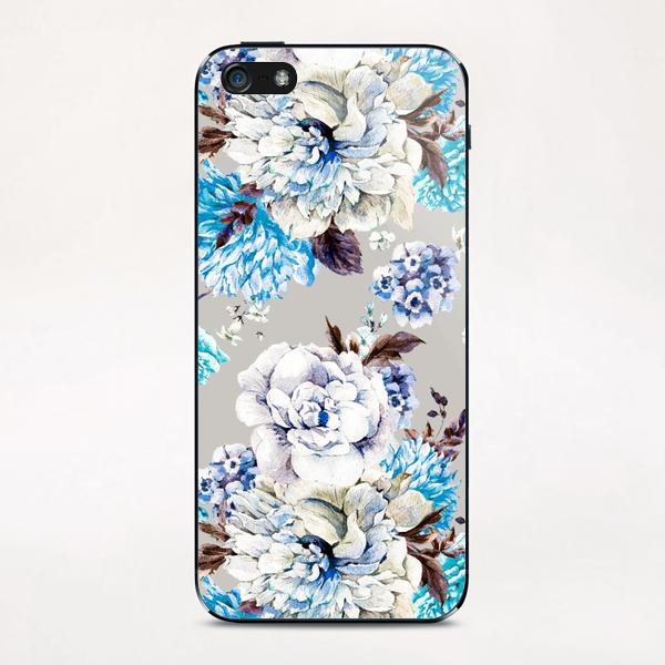 Blooming Flowers I iPhone & iPod Skin by mmartabc