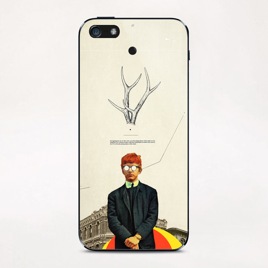 Bright Posture iPhone & iPod Skin by Frank Moth
