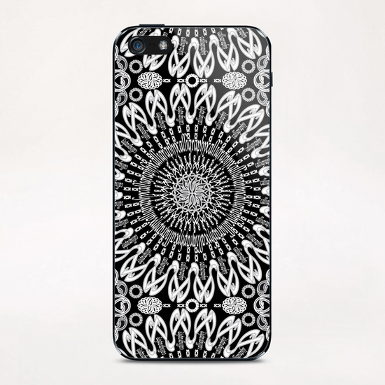 Calligraphy (Black&White) iPhone & iPod Skin by vannina