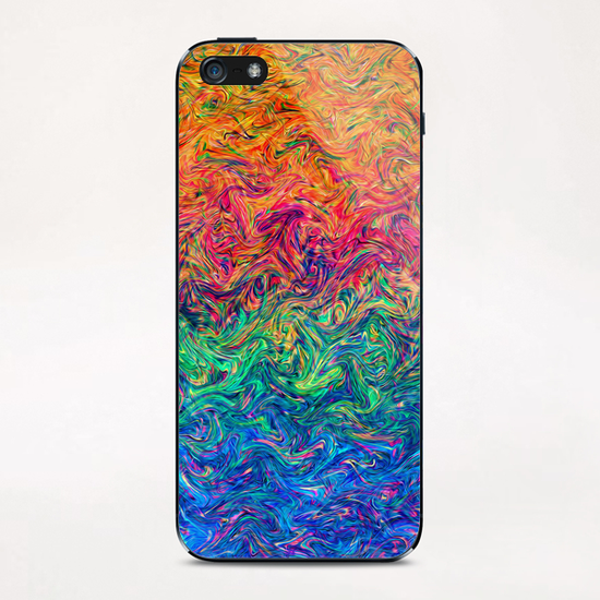Fluid Colors G2 iPhone & iPod Skin by MedusArt