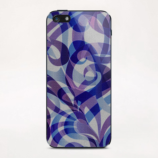 Floral Abstract G4 iPhone & iPod Skin by MedusArt