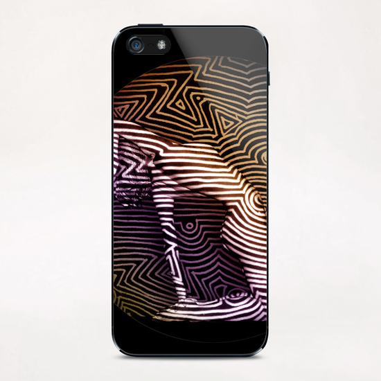 Courbes sur Courbes iPhone & iPod Skin by Denis Chobelet