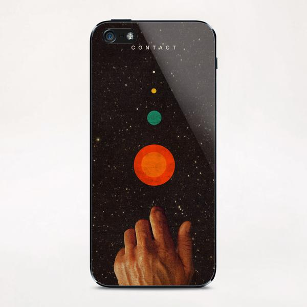 Contact iPhone & iPod Skin by Frank Moth