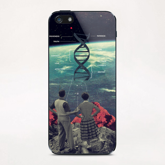 Distance & Eternity iPhone & iPod Skin by Frank Moth