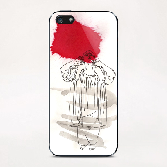 La Diva iPhone & iPod Skin by Pierre-Michael Faure