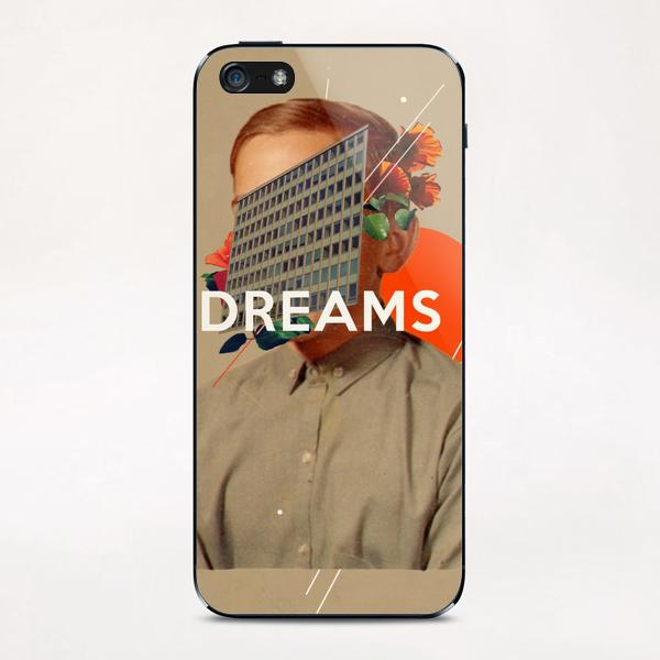 Dreams iPhone & iPod Skin by Frank Moth