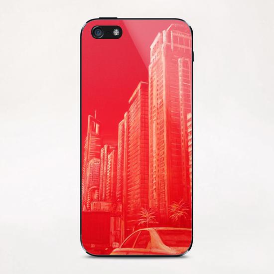 Dubai Street iPhone & iPod Skin by di-tommaso