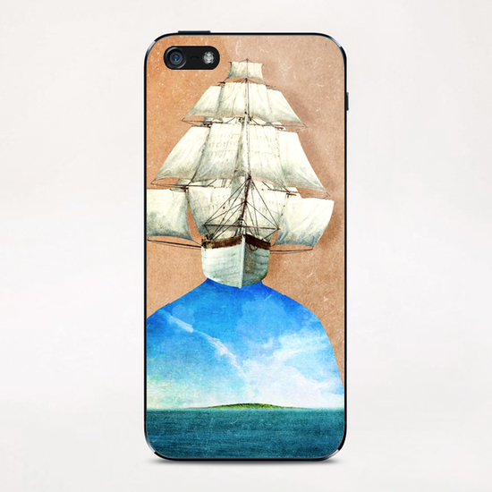 Explorer's Mind iPhone & iPod Skin by DVerissimo