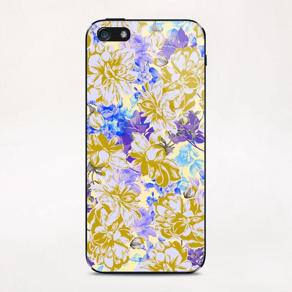 FLOWERY II iPhone & iPod Skin by mmartabc