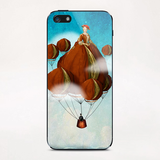 Flying Away iPhone & iPod Skin by DVerissimo