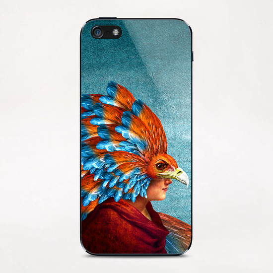 Free-Spirited iPhone & iPod Skin by DVerissimo