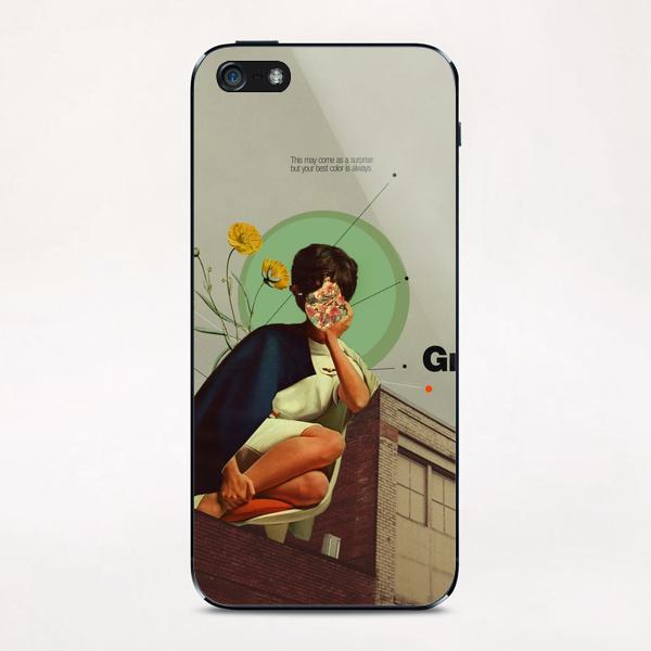 Grey iPhone & iPod Skin by Frank Moth