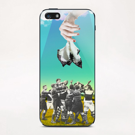 The Handkerchief iPhone & iPod Skin by tzigone