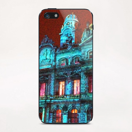 City Hall of Lyon iPhone & iPod Skin by Ivailo K