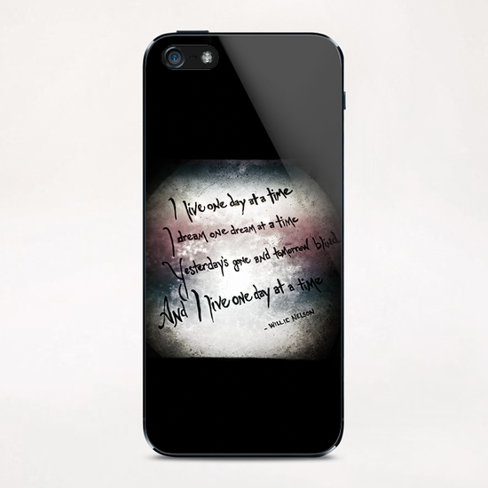 One Day at a Time iPhone & iPod Skin by Trish Mistric