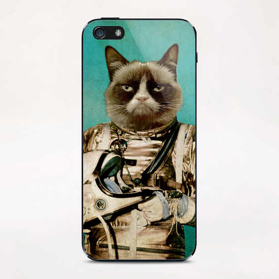 I need some space iPhone & iPod Skin by durro art