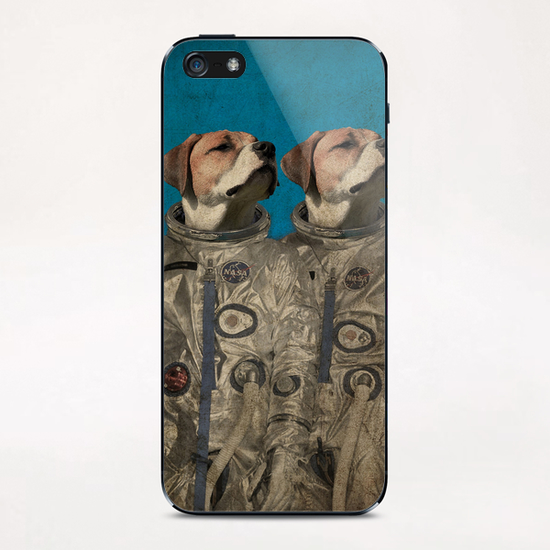 Journey into outer space iPhone & iPod Skin by durro art