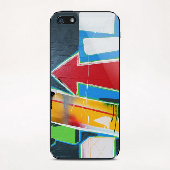 Left iPhone & iPod Skin by Pierre-Michael Faure