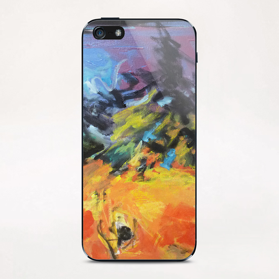 Lion Diptych - Right iPhone & iPod Skin by Georgio Fabrello