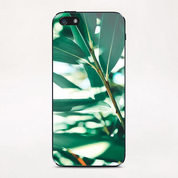 Love leaf iPhone & iPod Skin by mmartabc