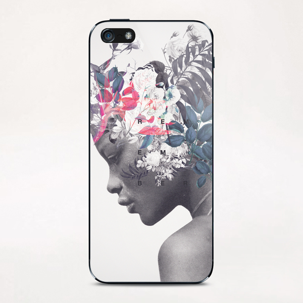 Memento iPhone & iPod Skin by Frank Moth