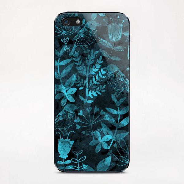 Abstract Botanical Garden  iPhone & iPod Skin by Amir Faysal