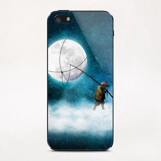 Moonwalk iPhone & iPod Skin by DVerissimo