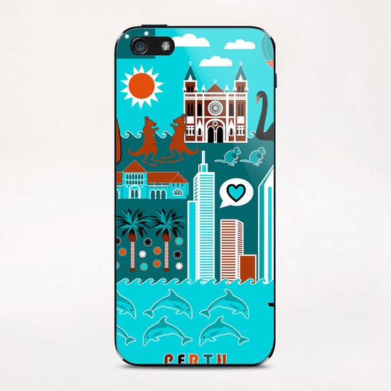 Perth Lifestyle iPhone & iPod Skin by vannina