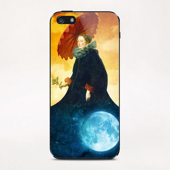 Queen of the Night iPhone & iPod Skin by DVerissimo