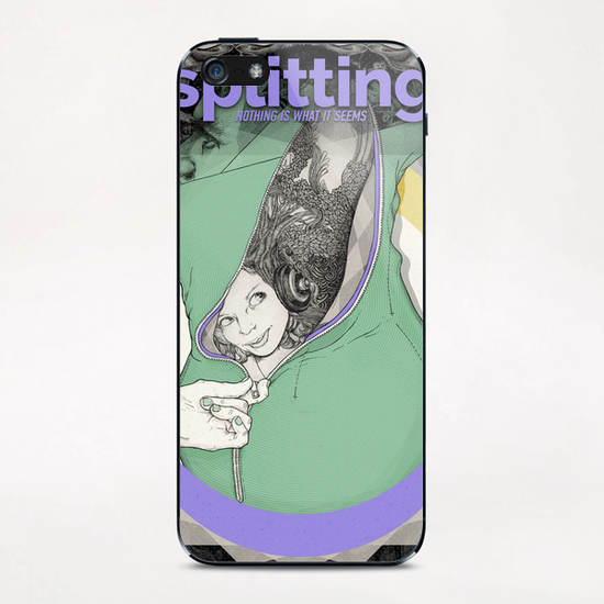NOTHING IS WHAT IT SEEMS iPhone & iPod Skin by sagi.art