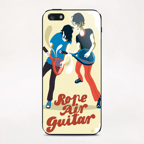 ROPE AIR GUITAR iPhone & iPod Skin by Francis le Gaucher