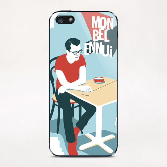 MY BEAUTIFUL BOREDOM iPhone & iPod Skin by Francis le Gaucher