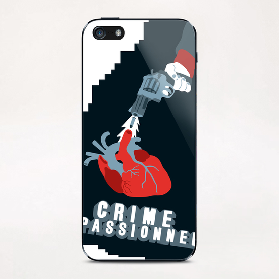 CRIME OF PASSION iPhone & iPod Skin by Francis le Gaucher