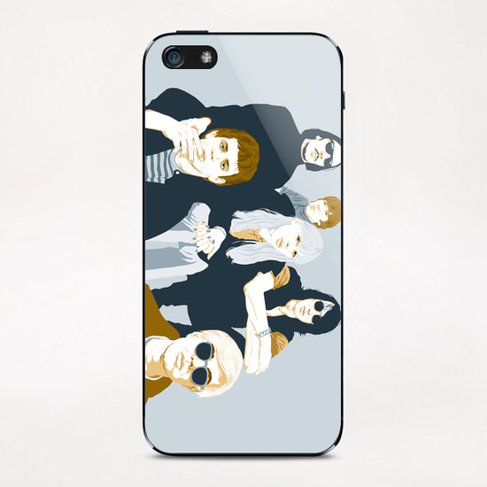 VELVET UNDERGROUND iPhone & iPod Skin by Francis le Gaucher