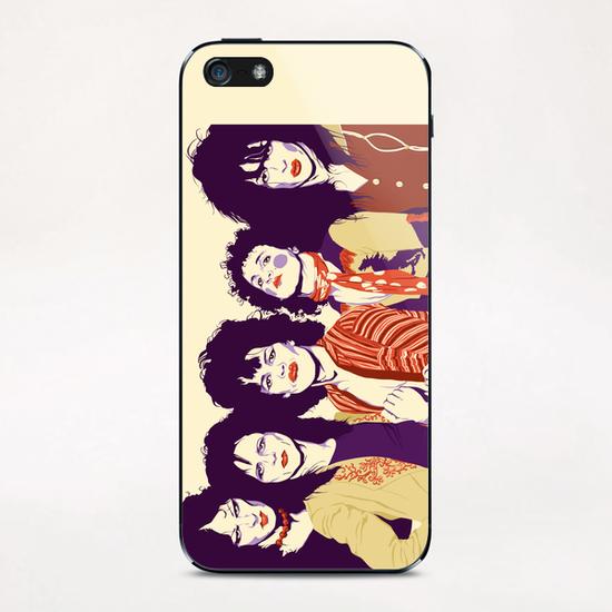 NEW YORK DOLLS iPhone & iPod Skin by Francis le Gaucher