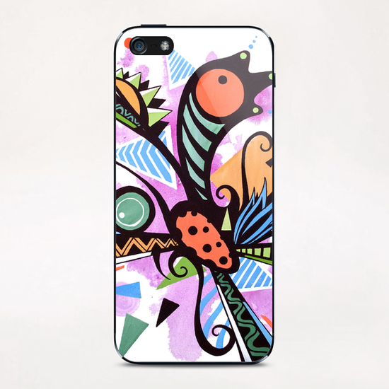 Incandescent nature  iPhone & iPod Skin by Skount