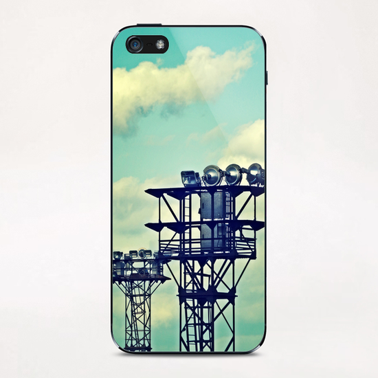 Sky and spot iPhone & iPod Skin by Stefan D