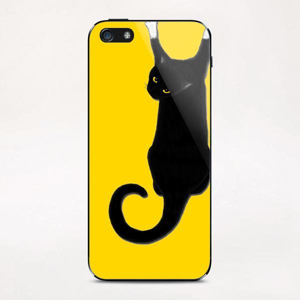 Hang Cat iPhone & iPod Skin by Tummeow