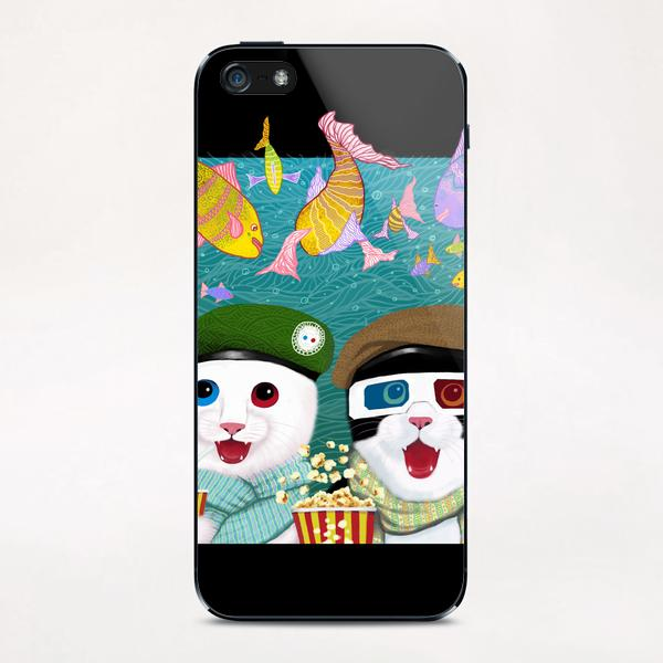 3D cats iPhone & iPod Skin by Tummeow