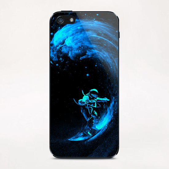 Space Surfing iPhone & iPod Skin by Nicebleed