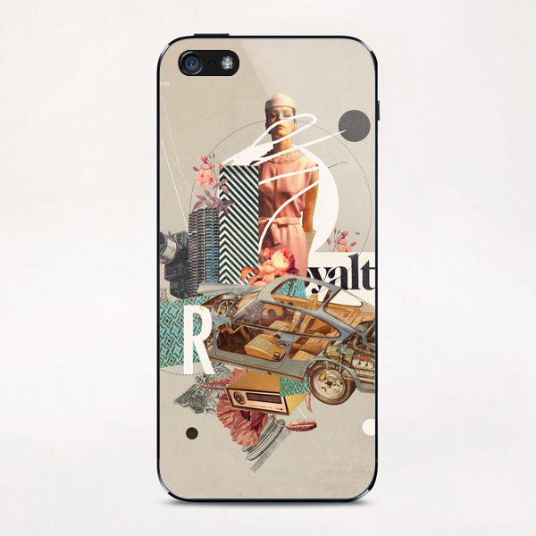 Spirited Royalty iPhone & iPod Skin by Frank Moth