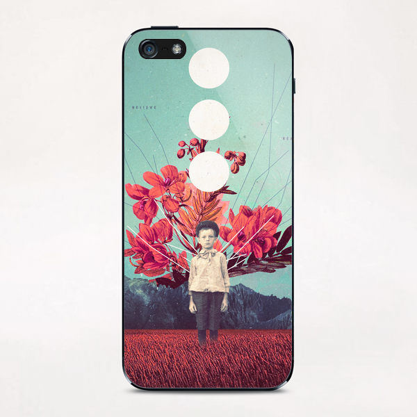 Standing at the Threshold of Tome iPhone & iPod Skin by Frank Moth