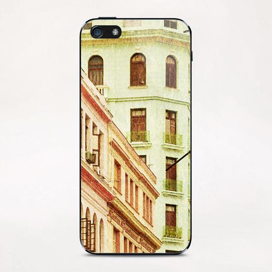 Street In Cuba iPhone & iPod Skin by fauremypics